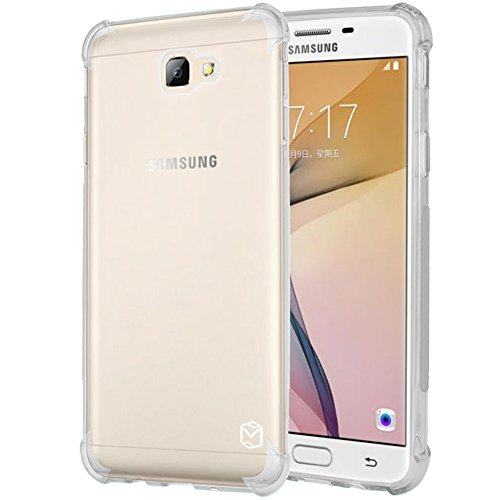 Galaxy J7 Prime Case, Galaxy On7 Case, Galaxy On NXT Case, MP-Mall Slim Fit Flexible Clear TPU Soft Skin Silicone Protective Case Cover For Samsung Galaxy ...