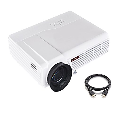 3800lumens 1080p Hd Led Projector Home Cinema Theater: Portable Projector, PRAVETTE 3800 Lumens Home Theater Mini