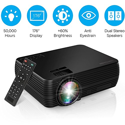 Projector Dbpower Mini Portable Video Projector 176