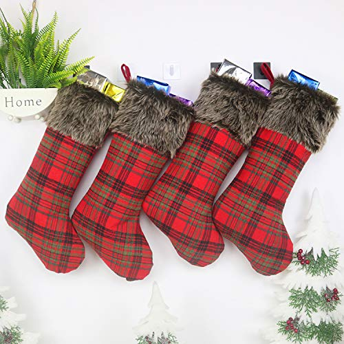 Top 10 Mantle Stocking Holders - Christmas Stockings ...